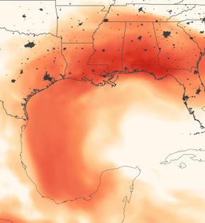 Atmospheric Dust Rivers: Saharan Dust Makes the Journey to the Americas  thumbnail