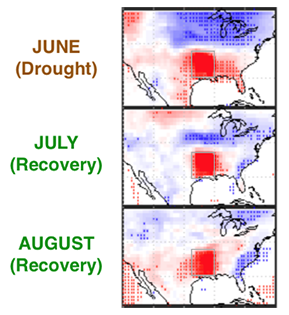 Impact of a regional US drought on land and atmospheric carbon thumbnail