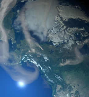 Impacts of 2019 Boreal Forest Fires on Atmospheric Pollution thumbnail