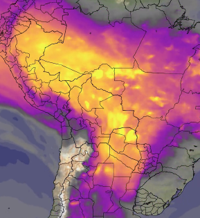 Fires in Latin America and Carbon Monoxide  thumbnail