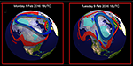 Tropospheric & Stratospheric circulation changes related to cold outbreak over eastern US during week of 8-14 February 2016 thumbnail